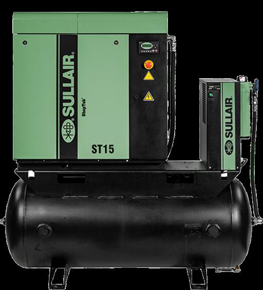 SHOPTEK ST4 - 15 ROTARY SCREW AIR COMPRESSORS