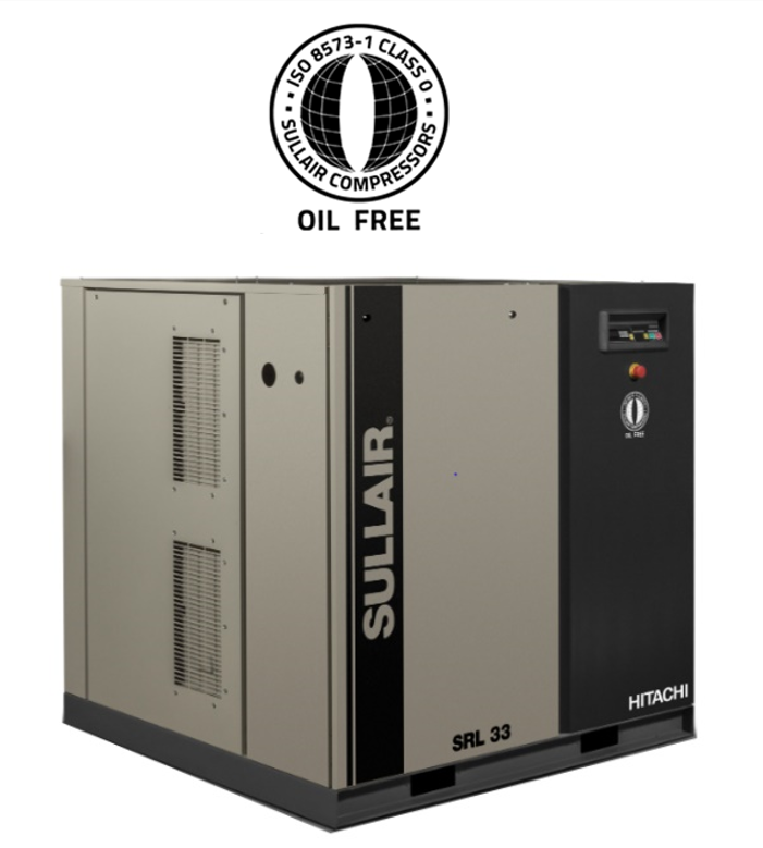 SRL SERIES OIL FREE SCROLL AIR COMPRESSORS