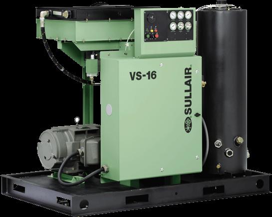 Sullair VS Series Rotary Screw Vacuum Systems